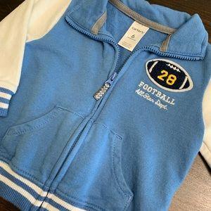 Carter's Shirts & Tops - Carter's Football Sweatshirt 🏈